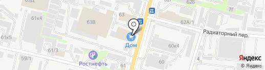 Территория камня на карте Ростова-на-Дону