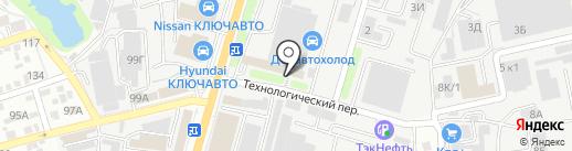 ЕвроЛюксЮг на карте Ростова-на-Дону
