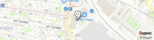 COMIX ZONE на карте Ростова-на-Дону