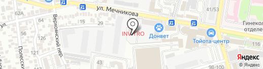 УАЗ Гедон на карте Ростова-на-Дону