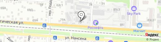 АркадМеталл на карте Ростова-на-Дону
