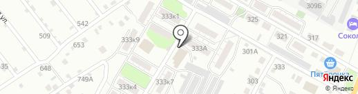 Пивник на карте Липецка