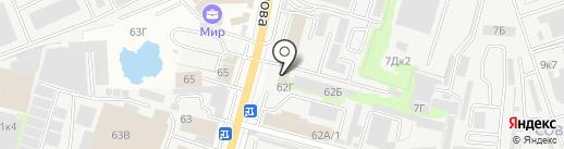 Квинта на карте Ростова-на-Дону