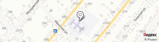 Детский сад №3 на карте Батайска