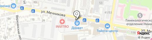 Honda на карте Ростова-на-Дону