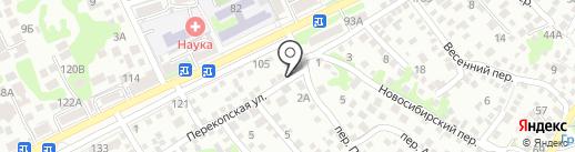 Магазин воды на карте Ростова-на-Дону