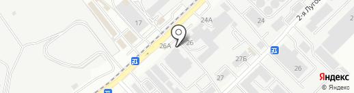 Росхимпром на карте Ростова-на-Дону