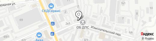 СТО №1 на карте Ростова-на-Дону
