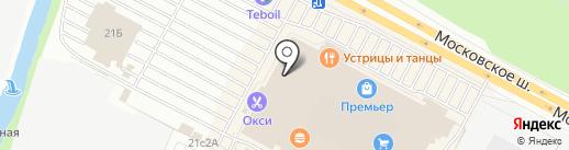 Первый Мебельный на карте Рязани