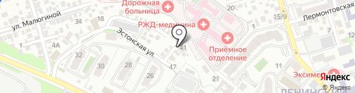 Спец-Гараж на карте Ростова-на-Дону