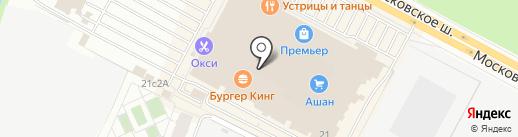 Иван Брагин на карте Рязани
