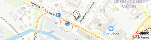 1С:БухОбслуживание. Рарус Центр на карте Ростова-на-Дону