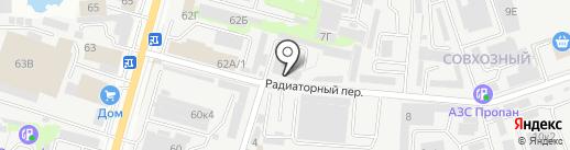Камин profi на карте Ростова-на-Дону