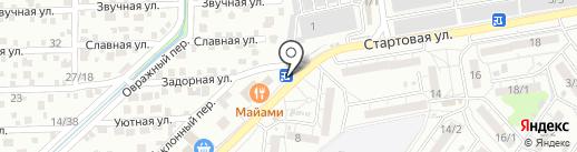 Аптекаръ на карте Ростова-на-Дону