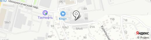 Производственно-торговое предприятие на карте Ростова-на-Дону