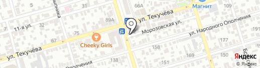 ВАМтел на карте Ростова-на-Дону
