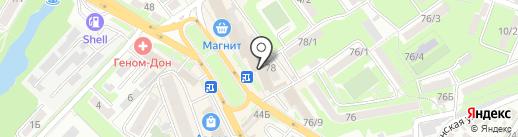 Банкомат, МТС-банк, ПАО на карте Ростова-на-Дону
