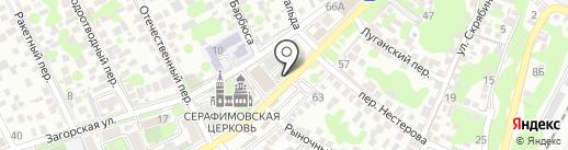AvtoRoom на карте Ростова-на-Дону