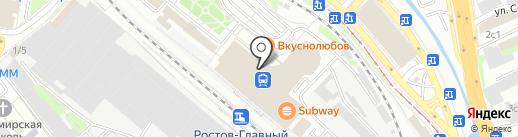 Love Coffee на карте Ростова-на-Дону
