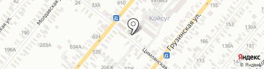 Мясной магазин на карте Батайска