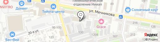 Массажный кабинет на карте Ростова-на-Дону