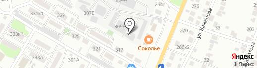 АВМ-Моторс на карте Липецка