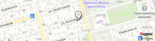 Yes Print на карте Ростова-на-Дону