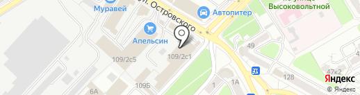 Магазин лакокрасочных материалов на карте Рязани