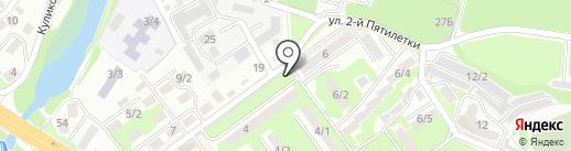 Киоск по продаже колбасных изделий на карте Ростова-на-Дону