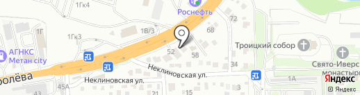 ЮниАвто на карте Ростова-на-Дону