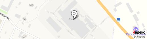 Учебно-опытный молочный завод на карте Молочного