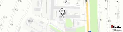 Смайл на карте Липецка
