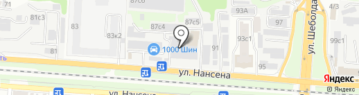 Ростов Реклама 61 на карте Ростова-на-Дону