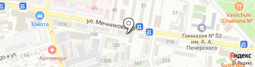 Хозяйственный мир на карте Ростова-на-Дону