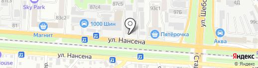 ПЭМИ на карте Ростова-на-Дону