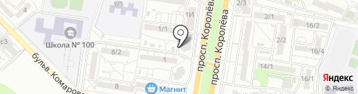 Пивной домик на карте Ростова-на-Дону