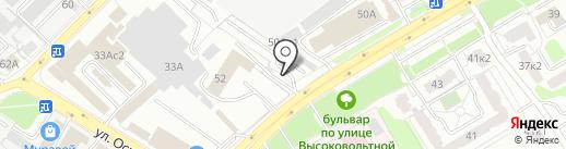 Спецремсервис на карте Рязани