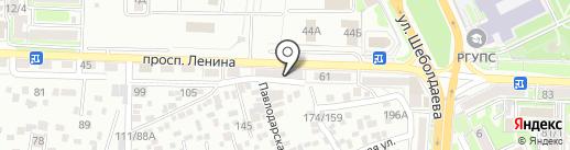 LookUp на карте Ростова-на-Дону