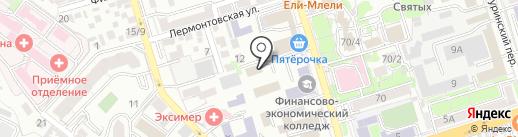 Beautyday.pro на карте Ростова-на-Дону