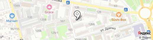 Мастерская по ремонту обуви на карте Ростова-на-Дону