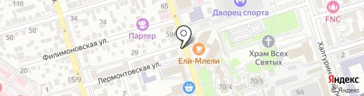 Моё бельё на карте Ростова-на-Дону