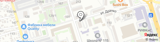 Богема на карте Ростова-на-Дону