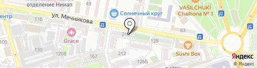 Ломбард Луч на карте Ростова-на-Дону
