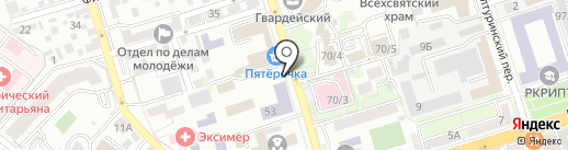 Coffee and donuts на карте Ростова-на-Дону