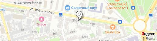 Магазин по продаже овощей и фруктов на карте Ростова-на-Дону