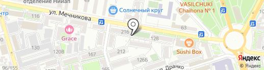 Чердак на карте Ростова-на-Дону