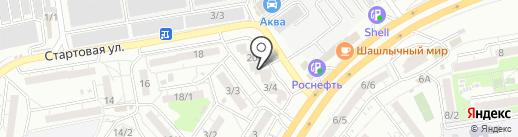 Добрый доктор на карте Ростова-на-Дону