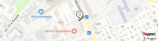 Адвокатский кабинет Тимошкина Н.М. на карте Рязани