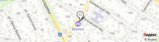 Гастрономчик на карте Ростова-на-Дону