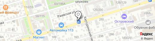 Пивная бухта на карте Ростова-на-Дону
